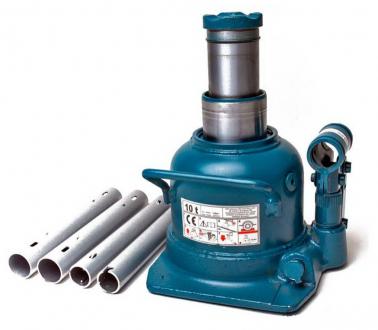 Домкрат телескопический 10т 125-225 мм профессиональный низкопрофильный TORIN TH810002