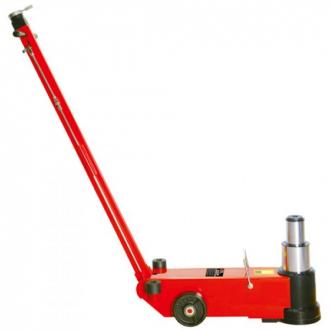 Домкрат для грузовых автомобилей 50т / 25т пневмо-гидравлический 235-352 / 457 + 120 мм (доп вставки) TORIN TRA50-2A