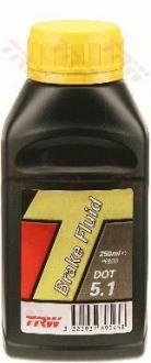 Жидкость тормозная DOT 5,1 0,25 PFB525