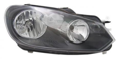 VW GO6 Прав. фара H7/H15 + дн.ход.огни, автом., + коррект., 20-11777-05-2