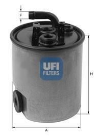 24.007.00 UFI Топливный фильтр