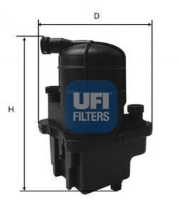 24.088.00 UFI Топливный фильтр
