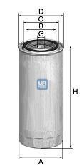 24.326.00 UFI Топливный фильтр