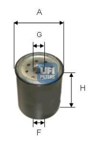 24.331.00 UFI Топливный фильтр