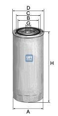 24.417.00 UFI Топливный фильтр