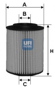 25.054.00 UFI Масляный фильтр