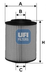 25.075.00 UFI Масляный фильтр