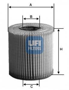25.080.00 UFI Масляный фильтр