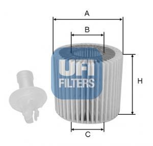 25.116.00 UFI Масляный фильтр