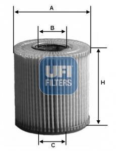 25.152.00 UFI Масляный фильтр