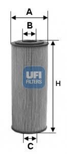 25.154.00 UFI Масляный фильтр