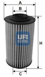25.163.00 UFI Масляный фильтр