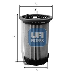 26.032.00 UFI Топливный фильтр