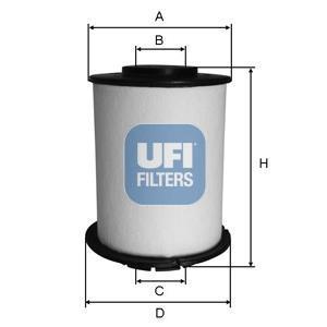 26.033.00 UFI Топливный фильтр