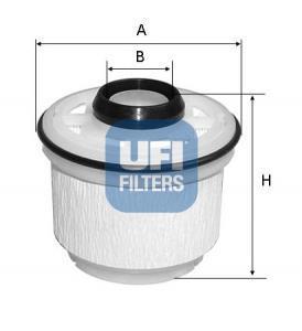 26.045.00 UFI Топливный фильтр