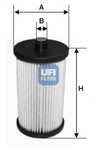26.057.00 UFI Топливный фильтр