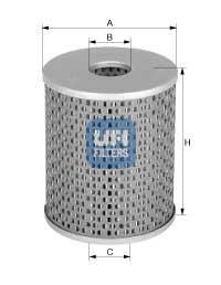 26.670.00 UFI Топливный фильтр