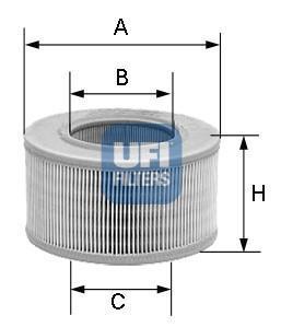 27.177.00 UFI Воздушный фильтр