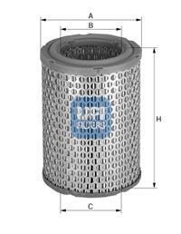 27.228.00 UFI Воздушный фильтр
