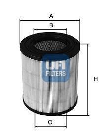 27.271.00 UFI Воздушный фильтр