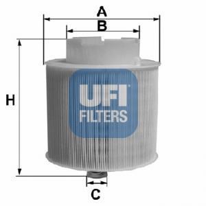 27.598.00 UFI Воздушный фильтр