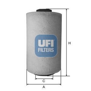 27.A53.00 UFI Воздушный фильтр