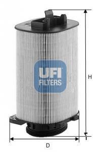27.A92.00 UFI Воздушный фильтр