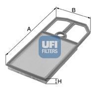 30.124.00 UFI Воздушный фильтр