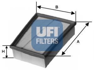 30.133.00 UFI Воздушный фильтр
