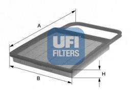 30.345.00 UFI Воздушный фильтр