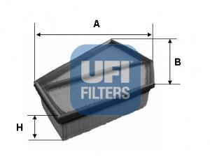 30.349.00 UFI Воздушный фильтр