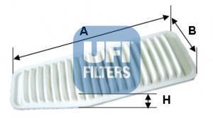 30.452.00 UFI Воздушный фильтр