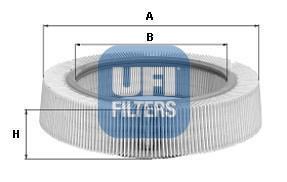 30.969.00 UFI Воздушный фильтр