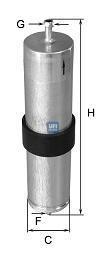 31.569.00 UFI Топливный фильтр
