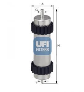 31.946.00 UFI Топливный фильтр