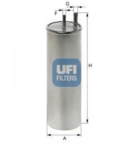 31.947.00 UFI Топливный фильтр