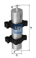 31.950.00 UFI Топливный фильтр