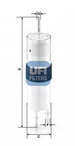 31.962.00 UFI Топливный фильтр