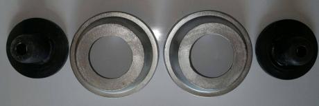 Проставки увеличения клиренса передние Chery Amulet A11-12005